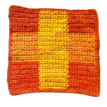 Fall Placemat And Coaster Set Crochet Pattern