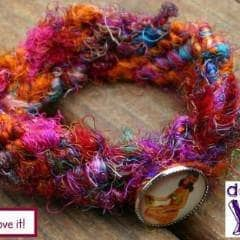 Grown-Up Twist on a Friendship Bracelet Free Pattern - Digital Download