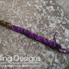 Crochet Braid Bracelet Free Pattern - Digital Download