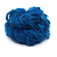 Recycled Silk Yarn Lux Adventure -Caribbean Ocean