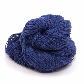 Sport Weight Linen 2-Ply Yarn - True Blue