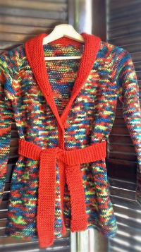 Twisted Cardigan Pattern