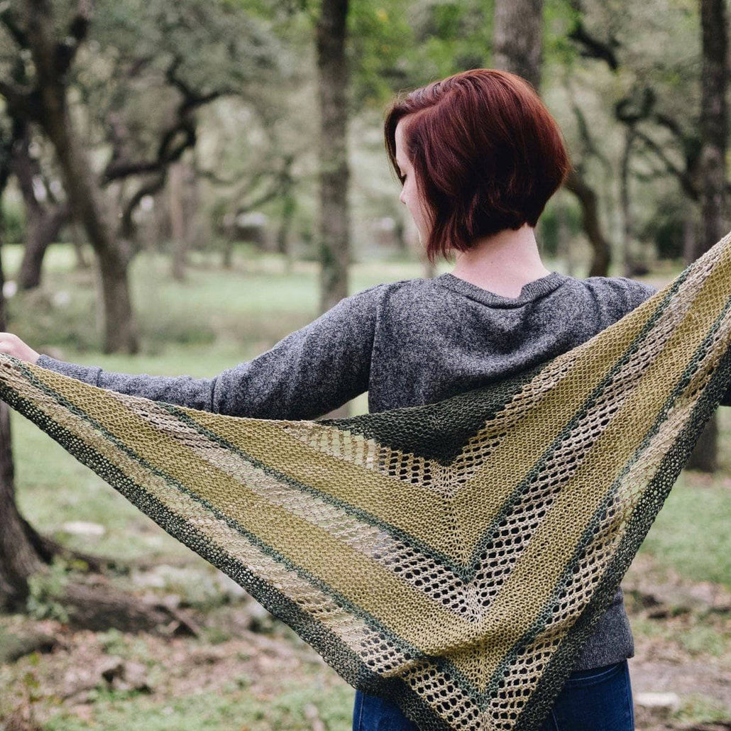 Hibiscus Shawl Knitting Kit