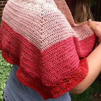 Herbal Sunrise Shawl Crochet Kit