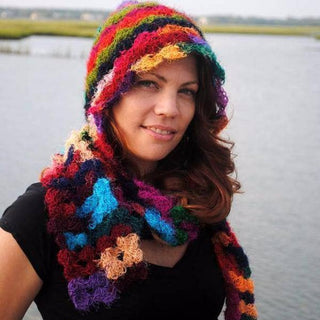 Crochet This: Pixie Hood Scarf