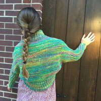 Mystic Mountain Shrug Knit Kit