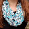 Rainy Day Infinity Scarf Crochet Pattern