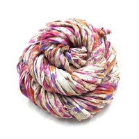 Recycled Sari Silk Piping Cord - Why You Don't Wash Reds and Blues with Your Whites