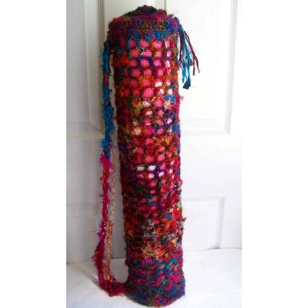 724e6be61e64 Beginner Yoga Mat Carrying Bag Pattern - Darn Good Yarn