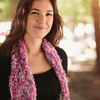 Simple Tunisian Crochet Scarf Kit