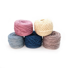 Naturally Dyed CHUNKY WOOL YARN ~ Naturally Dyed ~ Stockholm  ~ Skyline  ~ plant dyed with indigo  ~ Bulky yarn crochet weaving