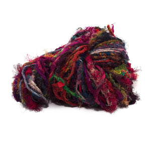 Twisted Sister - Handspun Recycled Silk Yarn