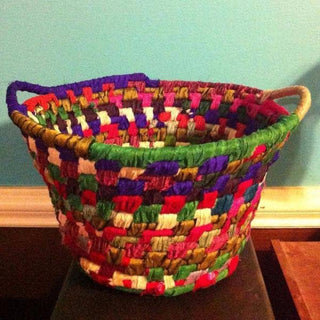 Yarn Wrapped Rope Basket Kit