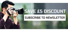 Save £5 discount and subscribe to our newsletter