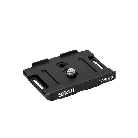 SIRUI TY-5DIII Quick Release Plate for Canon EOS 5D Mark III - TY Series