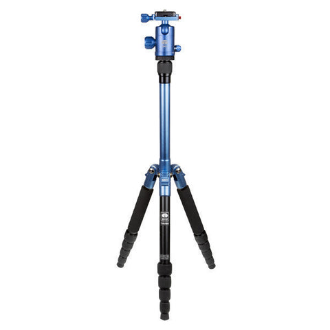 SIRUI T-005X Traveler UltraLight - Tripod Aluminium Blue with C-10S Ball Head – T05X Kit