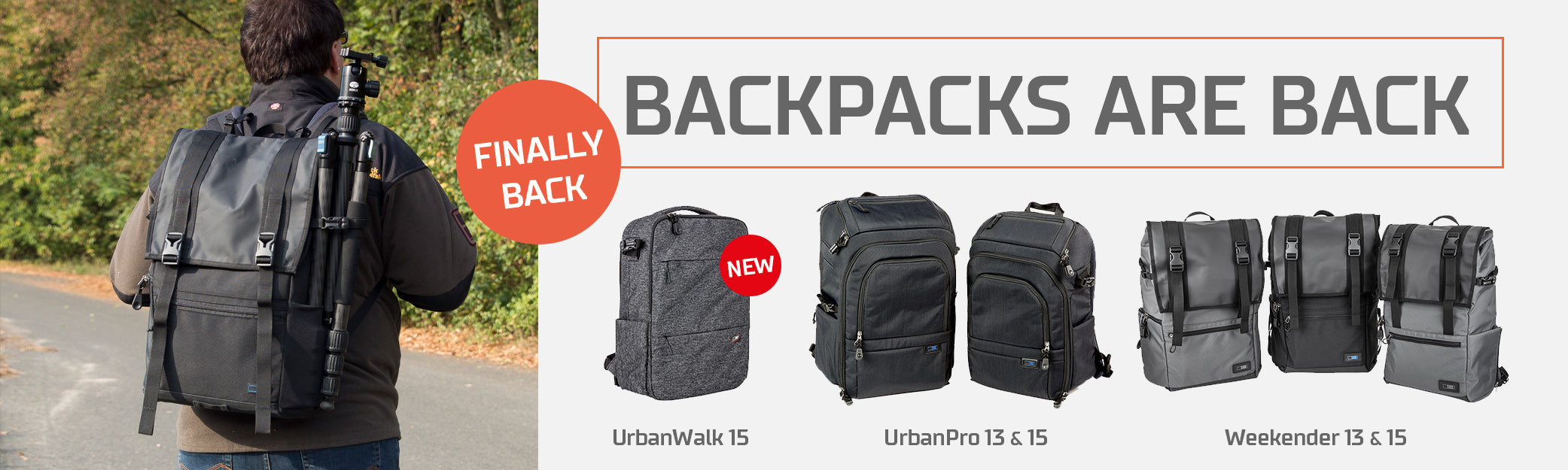 SIRUI BackPacks / Rucksack are back