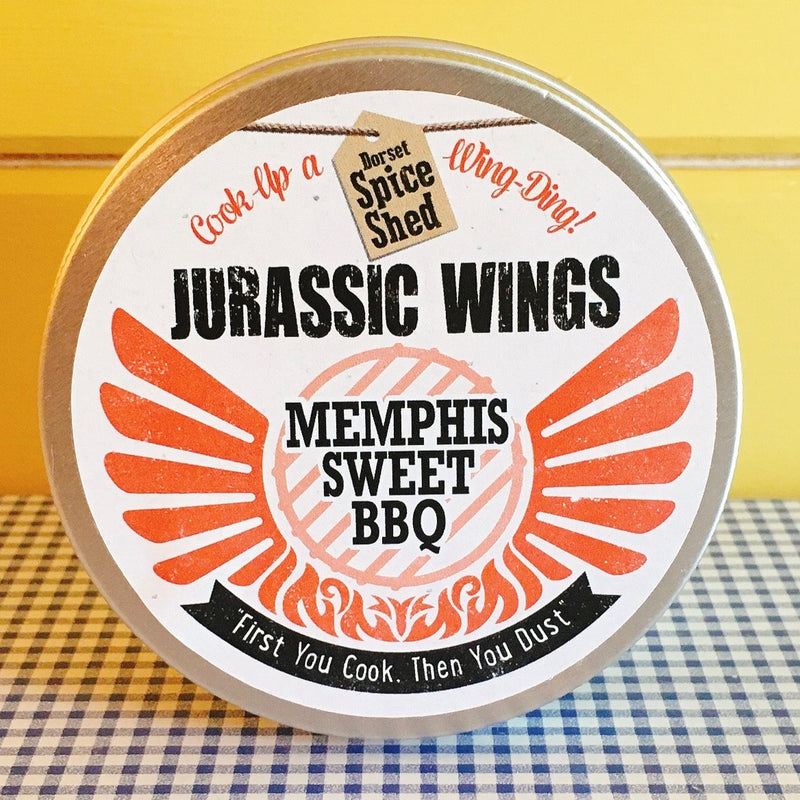 Jurassic Wings Memphis Sweet BBQ