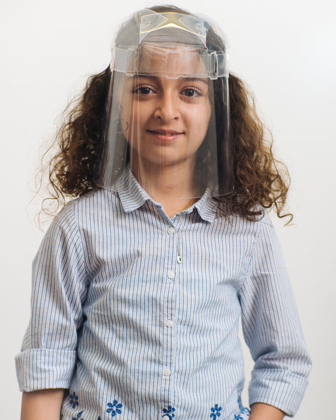 ZenShields Canada - Reusable Face Shield - Air Kids