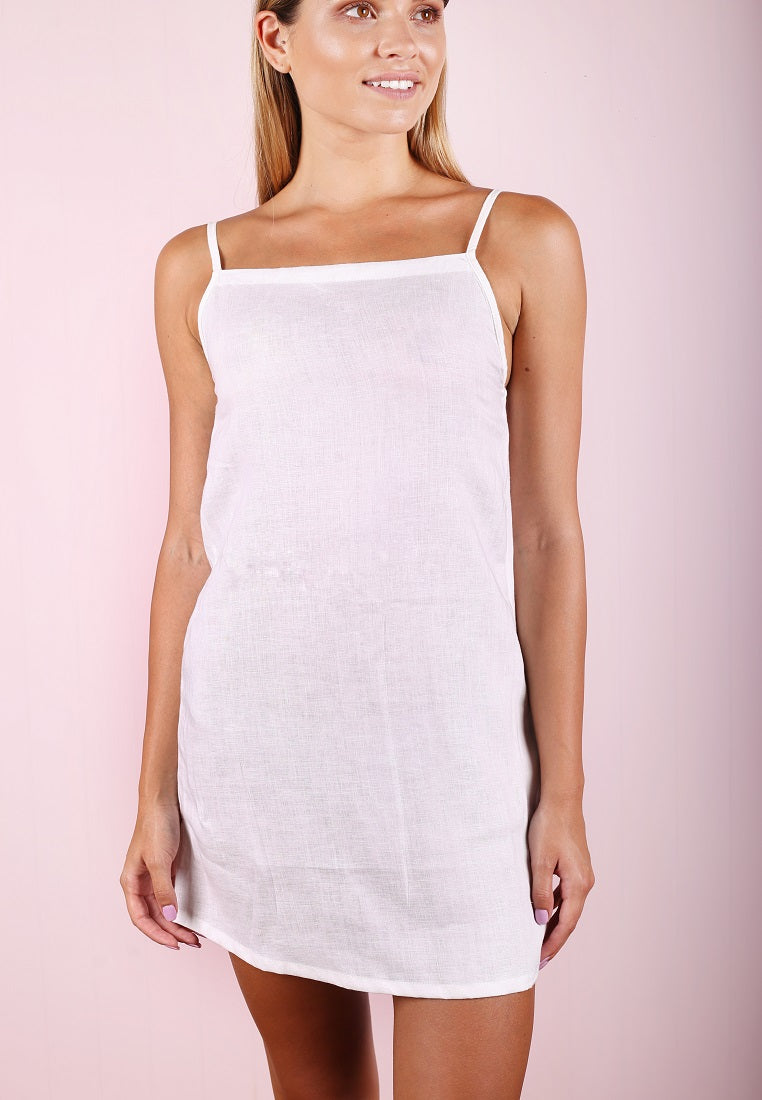 Lucinda Dress - White