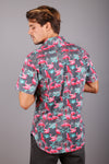 The Kid Shirt - Flamingo Dark Grey