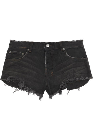 Alberceque distressed denim shorts