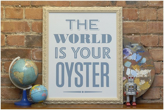 Your Oyster - Blue