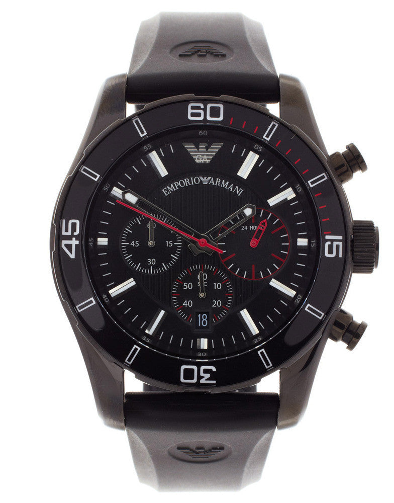 Emporio Armani Rubber Watch
