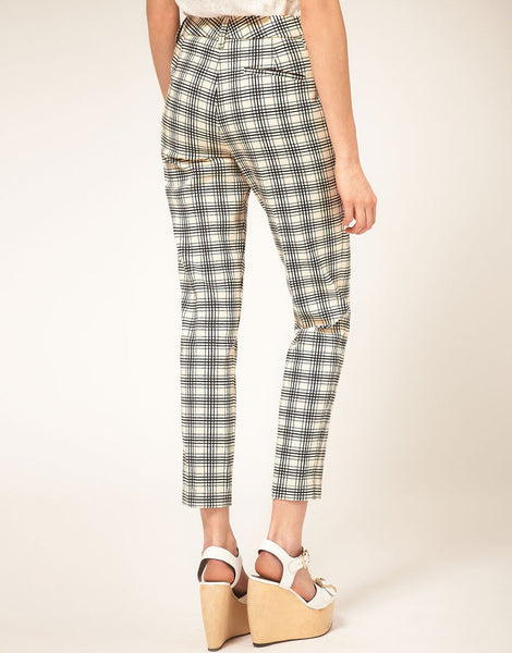 See by Chloe Checked Tailored Pant