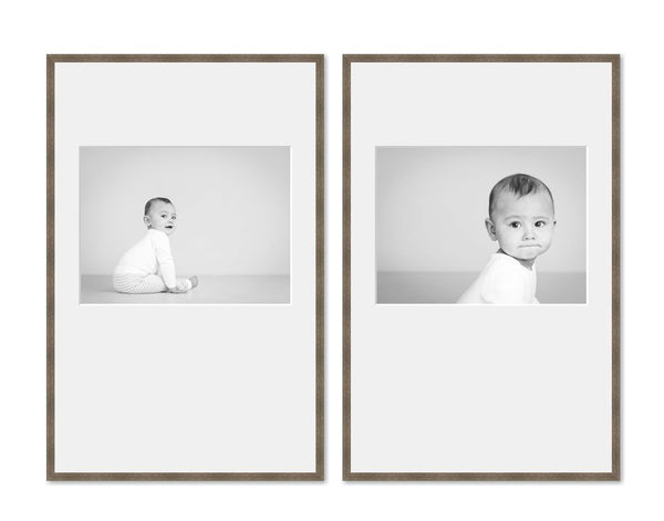 2 Big Tall framed images package