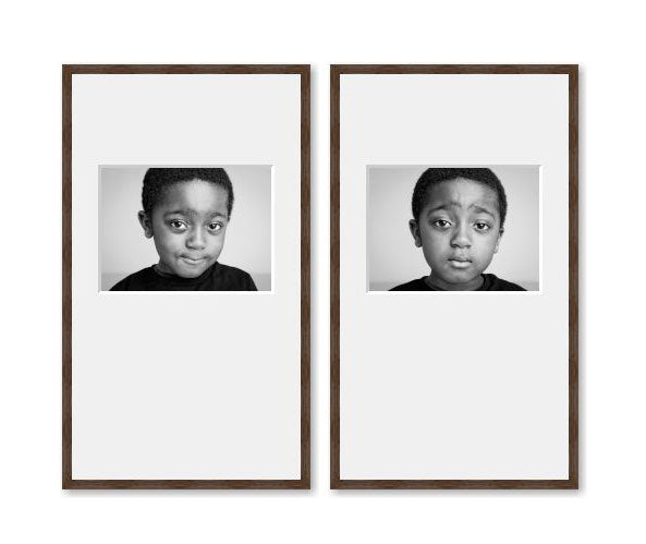 2 Medium Tall framed images package