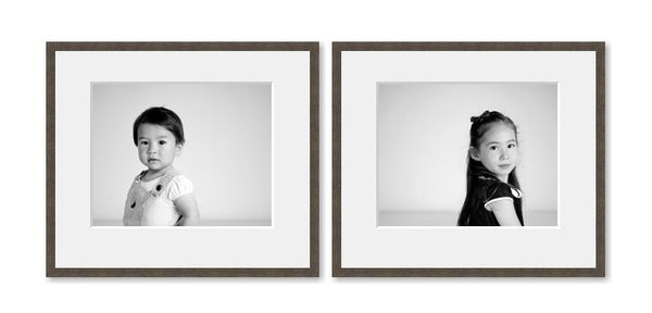 2 Medium framed images package