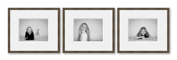 3 Very Small framed images package