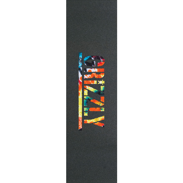 GRIZZLY 1-SHEET PUDWILL STAMP ORG TIE DYE
