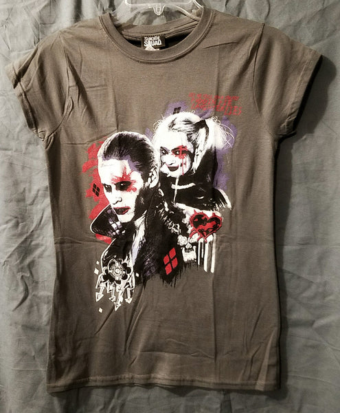 WOMEN'S SUICIDE SQUAD HARLEY QUINN'S PUDDIN LADIES T-SHIRT - 1LT2F
