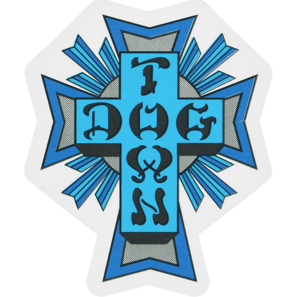 DOGTOWN CROSS DECAL - 1LT2F