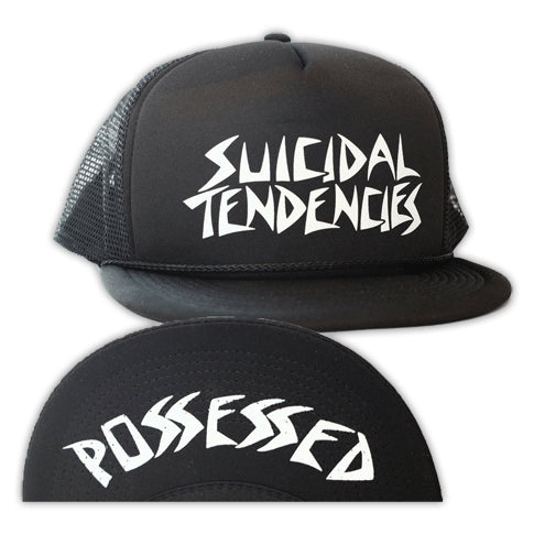 Dogtown X Suicidal Tendencies OG Possessed Flip Mesh Hat - 1LT2F