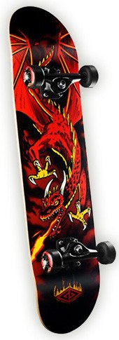 POWELL GOLDEN DRAGON FLYING DRAGON COMPLETE 7.62 - 1LT2F