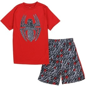 Boys Spiderman Short Set - 1LT2F