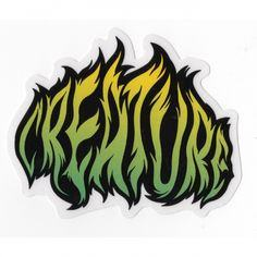 CREATURE MED STICKER - 1LT2F
