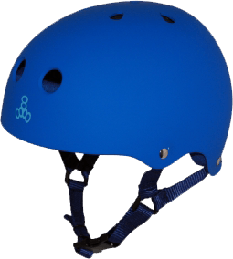 T8 HELMET ROYAL RUBBER - 1LT2F