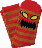 TOY MACHINE MONSTER STRIPE CREW SOCKS - 1LT2F