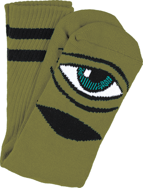 TOY MACHINE SECT EYE III CREW SOCKS - 1LT2F