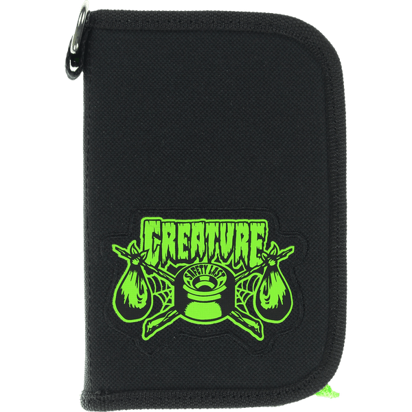 CREATURE TRANSIENT LUGGAGE POUCH BLACK - 1LT2F