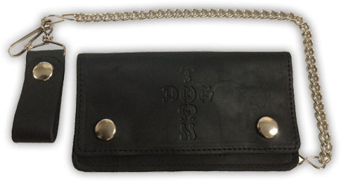 Dogtown Leather Chain Wallet - 1LT2F