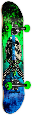 Powell Skull and Snake Storm Green and Blue Complete 7.62 - 1LT2F