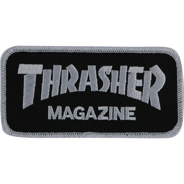THRASHER MAGAZINE LOGO PATCH - 1LT2F