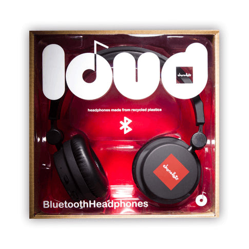 LOUD X CHOCOLATE OVER THE EARS BLUETOOTH HEADPHONES - 1LT2F