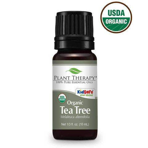 Essential Oil - Plant Therapy Certified Organic Tea Tree Essential Oil