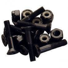 HARDWARE - INDEPENDANT NUTS/BOLTS PHILLIPS BLK 1''